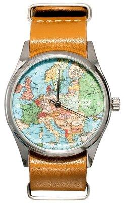Cheapo Pop-art Europe horloge