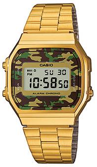 Casio A168WEGC-3 horloge