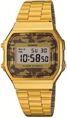 Casio A168WEGC-5 horloge