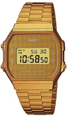 Casio A168WG-9B horloge
