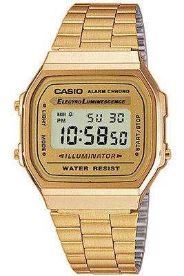 Casio A168WG-9E horloge