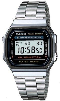 Casio A168WA-1A horloge