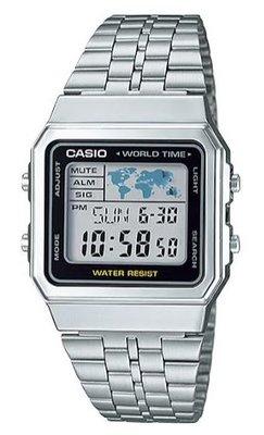 Casio A500WA-1 horloge