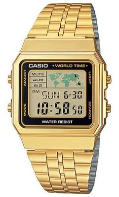 Casio A500WGA-1 horloge