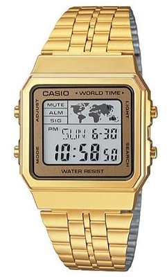 Casio A500WGA-9 horloge