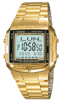 Casio DB-360G-9A horloge
