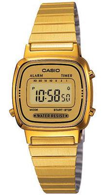Casio LA-670WG-9 horloge
