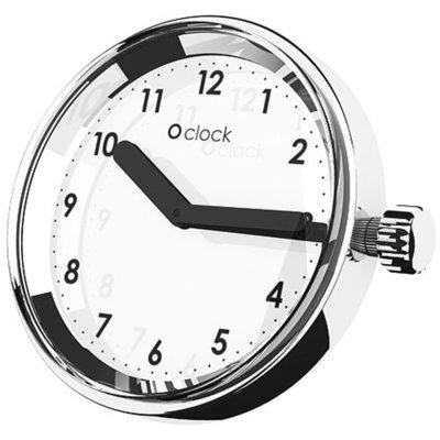 O clock klokje Numbers mirror