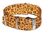 Cheapo Leopard yellow horlogeband