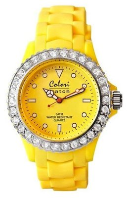 Colori Watch Crystal Yellow
