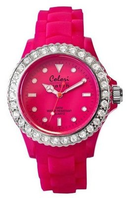 Colori Watch Crystal Pink