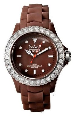 Colori Watch Crystal Brown