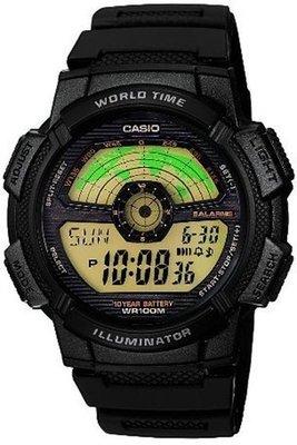 Casio AE-1100W-1BV horloge