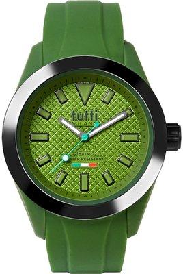 Tutti Milano Fiore Army Green/Noir