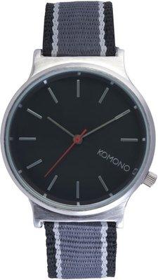 Komono Wizard Three Tone Silver Black