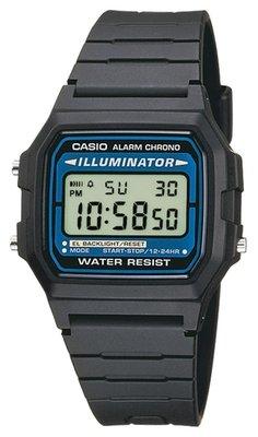 Casio F-105W-1A horloge