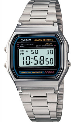 Casio A158WA-1 horloge