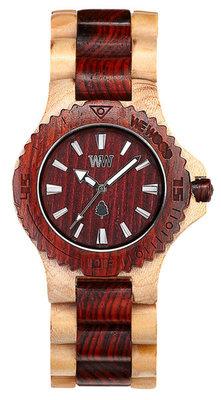 WeWOOD Date Beige/Brown horloge