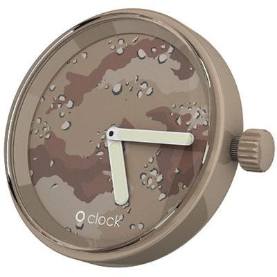 O clock klokje camouflage desert