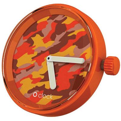 O clock klokje camouflage autumn