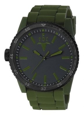 EDC Rubber Star Olive Green