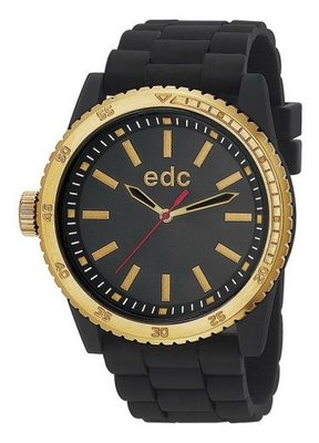 EDC Rubber Starlet Midnight Black Gold