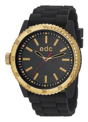 EDC Rubber Starlet Midnight Black Gold