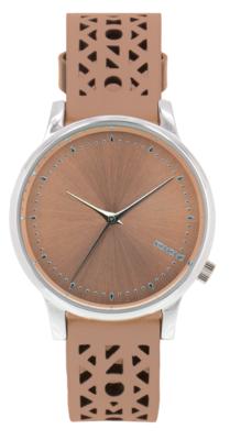 Komono Estelle Cutout Seashell Silver horloge