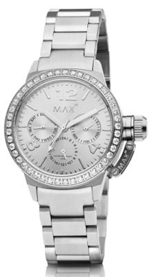 MAX Artisan Zirkonia Silver horloge