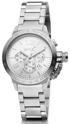 MAX Artisan Chrono Silver horloge