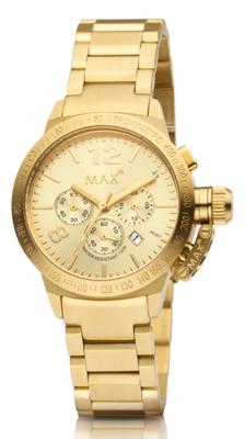MAX Artisan Chrono Gold horloge