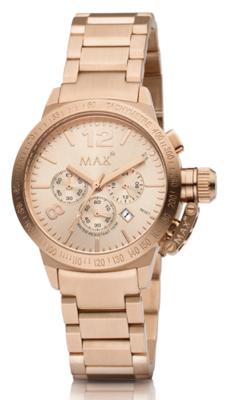 MAX Artisan Chrono Rosé horloge