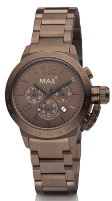 MAX Artisan Chrono Brown horloge