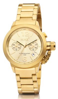 MAX Artisan Big Chrono Gold horloge