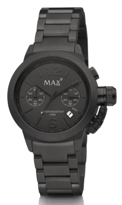 MAX Artisan Big Chrono Black horloge