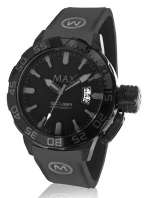 MAX Scuba Black horloge