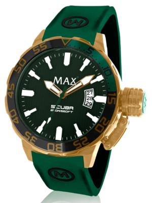 MAX Scuba Green horloge