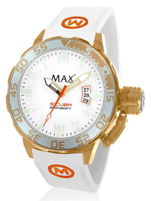 MAX Scuba White horloge