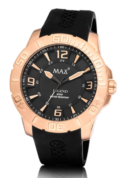 MAX Legend Black/Rosé horloge