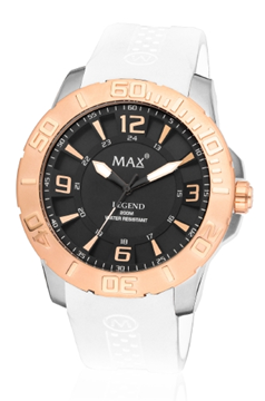 MAX Legend White/Black/Rosé horloge