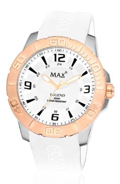 MAX Legend White/Rosé horloge