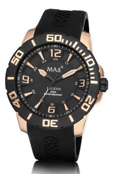 MAX Legend Black/Black/Rosé horloge
