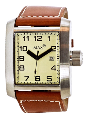MAX Square Brown horloge