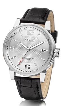 MAX Gentleman Silver horloge