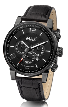 MAX Gentleman Chrono Black horloge
