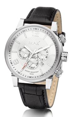 MAX Gentleman Chrono Silver horloge