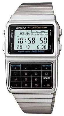 Casio DBC-611-1DF horloge