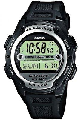 Casio W-756-1A horloge