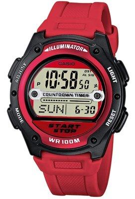 Casio W-756-4A horloge