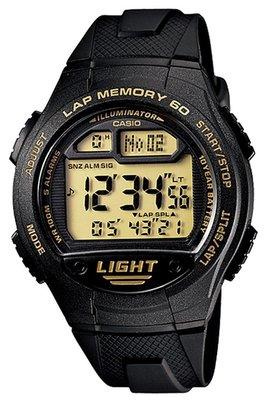 Casio W-734-9AVDF horloge